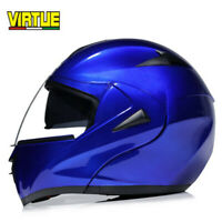 DOT Motorcycle Helmet Flip Up Full Face Modular Helmet Dual Visor Motocross Race