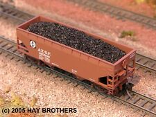 Hay Brothers Lump (aka Raw) Coal Loads (3-pack) - fits Micro-Trains 33' Hoppers