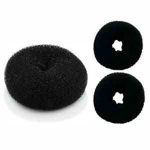 3 Pieces Hair Bun Donut Ring French Rolls (1 Large  2 Small) DIY - US Ship