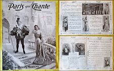 Paris qui Chante - 1907 - N°230 - Revue Folies Marigny. Vilbert Tariol Baugé.