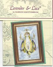 """COMPLETE CROSS STITCH MATERIALS - """"ANGEL OF HEALING"""" BY Lavender and Lace"""