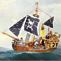 LEGO PIRATI MEGA BLOKS COMPATIBIL 100 % ☆ GALEONE PIRATI GOD OF STORM ☆ ►NUOVO◄