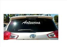 Aotearoa New Zealand Removable Vinyl Decal Sticker Car Truck Boat 290mm x 50mm
