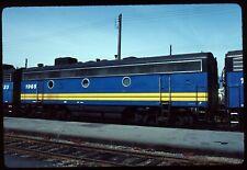 Original Rail Slide - VIA Rail Canada 1965 Vancouver BC 4-16-1983
