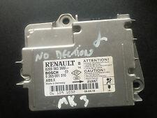 RENAULT CLIO MK3 AIRBAG MODULE ECU 8200563368