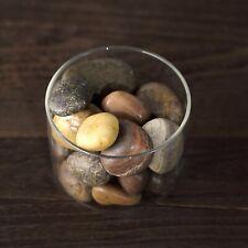 2 lbs Assorted Brown Natural Gravel Pebble Stones Vase Fillers Home Wedding Sale