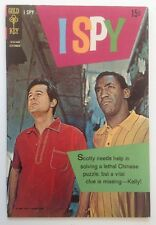 I SPY 6 GOLD KEY September 1968 F/VF BILL COSBY PHOTO COVER
