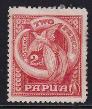 Album Treasures Papua New Guinea Scott # 97  2p Bird of Paradise  Mint NG