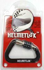 HelmetLok II Helmet Lock for Motorcycle helmet Secure your helmet to bike V2
