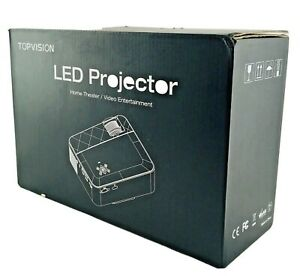 Topvision T6 LED Projector Home Theater