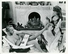GEORGE SANDERS DANY ROBIN THE BEST HOUSE IN LONDON 1969 VINTAGE PHOTO ORIGINAL 3