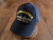 Uss Indianapolis Ca-35 1932-1945 U.S Navy Ship Hat Official Military Ball Cap