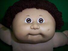 Vintage Cabbage Patch Kids Doll 1978-1982 Brown Eyes Loop Hair Boy Mold Dimple