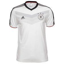 Adidas hombre DFB Home replica Tee camiseta blanco Alemania WM 2014 XL