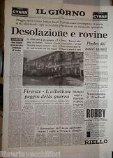 Alluvione di Firenze Fiume Arno Fango Grosseto Piena allagamenti Toscana di e