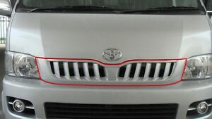 FRONT GRILL V.3 FOR TOYOTA HIACE 2004-2010