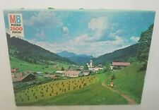 Vtg 1981 Milton Bradley Grand Tirol Alps Austria 2500 Piece Puzzle 100% Complete