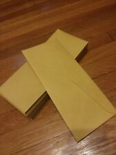 #14 Brown Kraft Regular Envelopes - 5 x 11 1/2  Fifty (50) Envelopes per order !