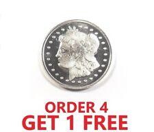 1 Gram .999 Fine Silver Round - Morgan Dollar