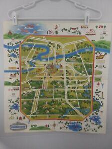"1970's Kansas City Points of Interest Map 19"" x 19"""