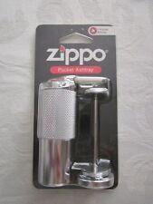 NEW! Zippo Pocket Ashtray, Silver Chrome Slide Cylinder Tube Free U.S. Shipping!