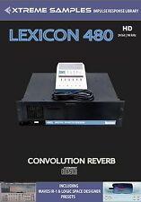 XTREME samples Lexicon 480 HD Reverb impulsi response Library