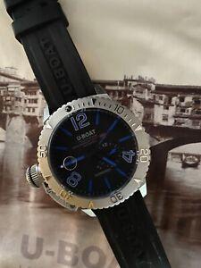 U-Boat Sommerso Black Men's Watch - 9007A