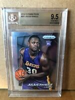 2014-15 JULIUS RANDLE PANINI PRIZM ROOKIE RC CARD BGS 9.5 Gem Mint