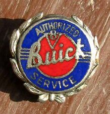 VERY RARE ORIGINAL EARLY NOS BUICK SERVICE EMPLOYEE CLOISONNE PIN #78
