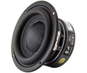 "NEW Bass AUDIO QT-40FSW01 4"" 4-8ohm/50W Powerful pure Hifi CAR SUBWOOFER Speaker"