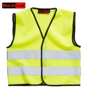Blackrock Kids Hi Vis Vest Yellow Children High Visibility Viz Waistcoat 803002