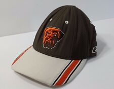 Cleveland Browns NFL Reebok Hat Brown with Bulldog Adjustable One Size