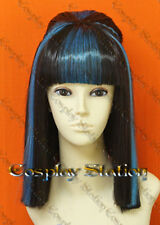 Monster High Ghouls Rule Cleo De Nile Custom Styled Cosplay Wig_commission751