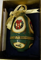 Valerie Parr Hill Musical Mr. Christmas Holiday Tree Egg Ornament With Box 2007