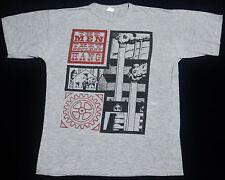 Vintage 80's The Men They Couldn'T Hang 50/50 Folk Rock Punk Tour T-Shirt Pogues