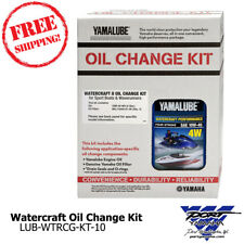 Yamaha OEM Oil Change Kit FX SHO FZR FZS SVHO VXR VXS 10W40 LUB-WTRCG-KT-10