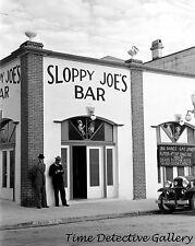 Sloppy Joe's Bar, Key West, Florida - 1938 - Historic Photo Print