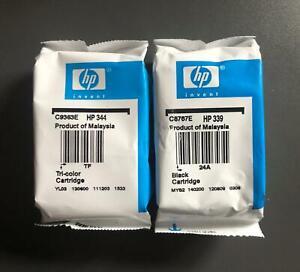 Genuine HP Ink Multipack - HP 339 BLACK C8767E + HP 344 COLOUR C9363E (INC VAT)