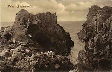 Kullen Sweden Sverige Schonen ~1910 Strandparti Strand Klippen Rocks ungelaufen