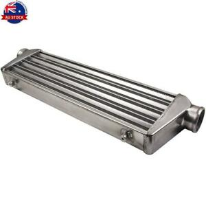 """Universal Intercooler 550x175x64mm Inlet and Outlet 2.5"""" 64mm Front Mount TPDAU"""