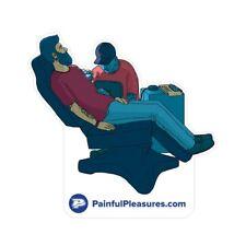 Tattoo Chair Die-Cut Sticker — Price Per 1