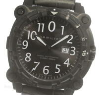 HAMILTON Khaki Below Zero H785750 Date black Dial Automatic Men's Watch_611063