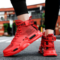 High-top Men Breathable Sneakers Student Sports Sandals Casual Shoes Personality