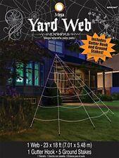 Mega Yard Spider Web Halloween Decor 23' X 18', New, Free Shipping