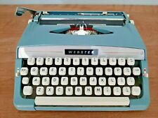 Webster typewritter