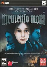 MEMENTO MORI - Conspiracy Thriller Mystery Adventure PC Game - BRAND NEW!