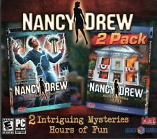 Nancy Drew - Alibi in Ashes & The Deadly Device 2-Pack - New Sealed