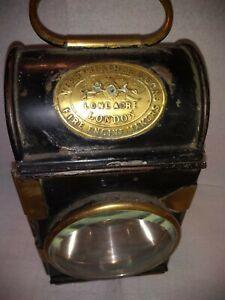 Vintage fire engine lamp merryweather
