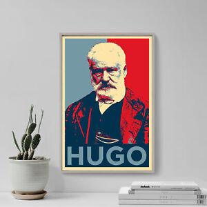 Victor Hugo Art Print 'Hope' - Photo Poster Gift