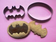 Batman Cookie Cutters Comics Party Special Fondant Biscuit Baking Metal Set